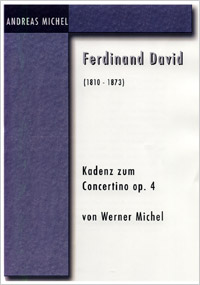 Cadenza for David's Concertino